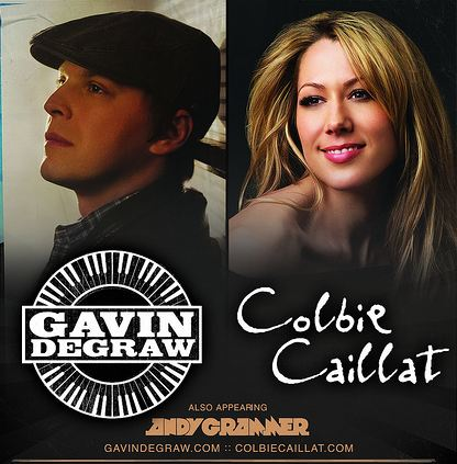 Gavin Degraw Colbie Caillat Bank of America Pavilion