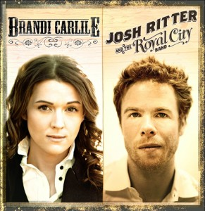 Brandi Carlile and Josh Ritter Bank Of America Pavilion