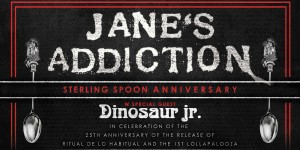 Jane's Addiction, Dinosaur Jr. & Living Colour