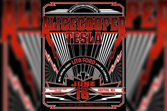 Alice Cooper, Tesla & Lita Ford