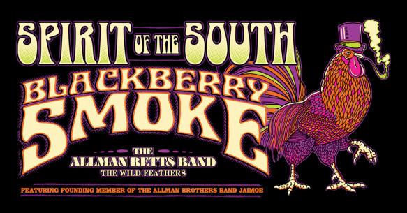Blackberry Smoke, The Allman Betts Band, Jaimoe & The Wild Feathers